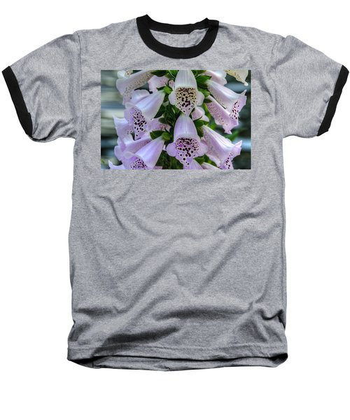 Foxglove At Waters Edge Baseball T-Shirt