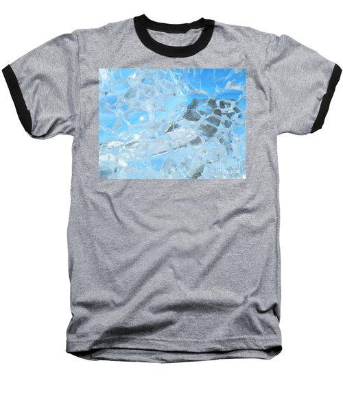 Baseball T-Shirt featuring the photograph Fracked  by Brian Boyle