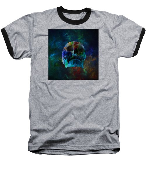 Fracskull 3 Baseball T-Shirt by Chris Thomas