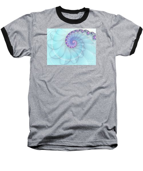 Fractal 17 Baseball T-Shirt