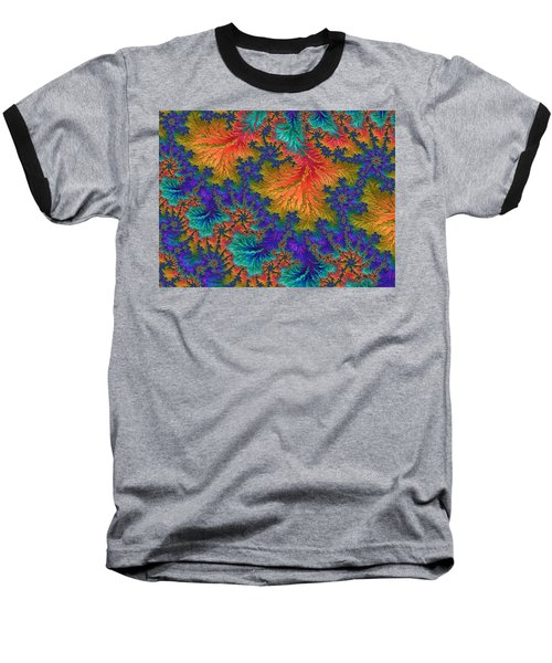 Fractal Jewels Series - Jubilation Baseball T-Shirt