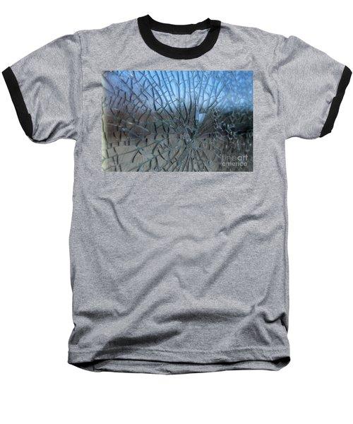Fractured Heart Baseball T-Shirt