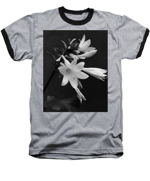 Fragrant Plantain Lily Baseball T-Shirt