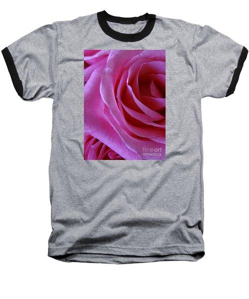 Face Of Roses 2 Baseball T-Shirt by Gem S Visionary