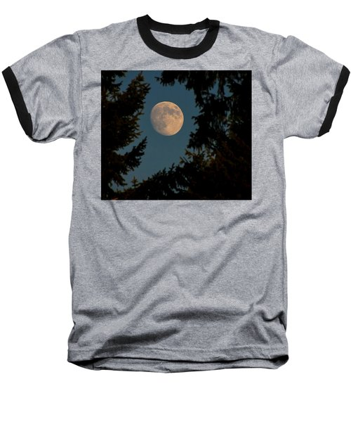 Framed Moon Baseball T-Shirt