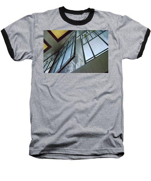 Frank Lloyd Wright's Open Window Baseball T-Shirt