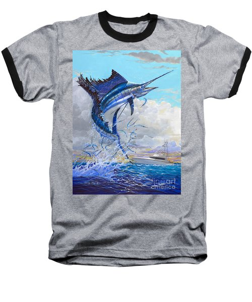 Free Jumper Off00152 Baseball T-Shirt by Carey Chen