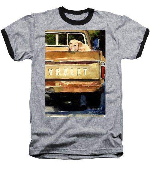 Free Ride Baseball T-Shirt by Molly Poole