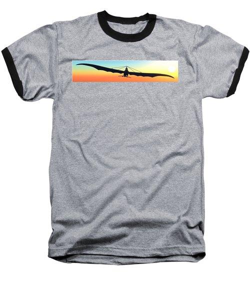 Baseball T-Shirt featuring the digital art Free... by Tim Fillingim