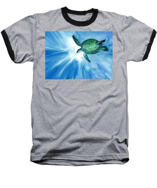 Sea Tutrle 2 Baseball T-Shirt