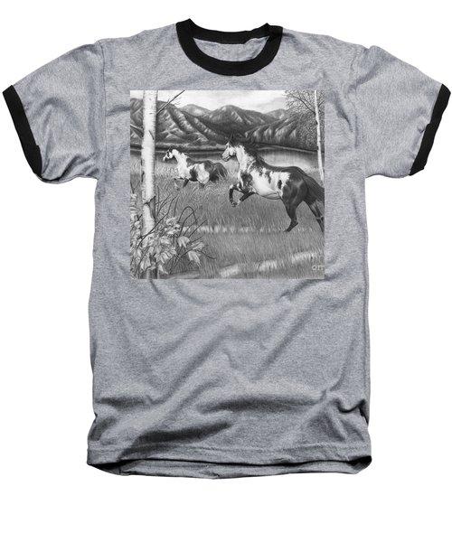 Freedom Run Baseball T-Shirt
