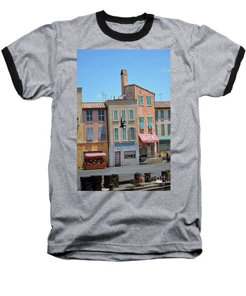 Baseball T-Shirt featuring the photograph Freefall by Robert Meanor