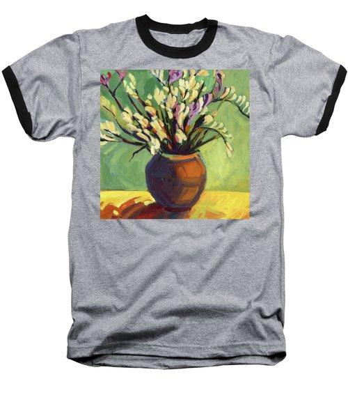 Freesias Baseball T-Shirt