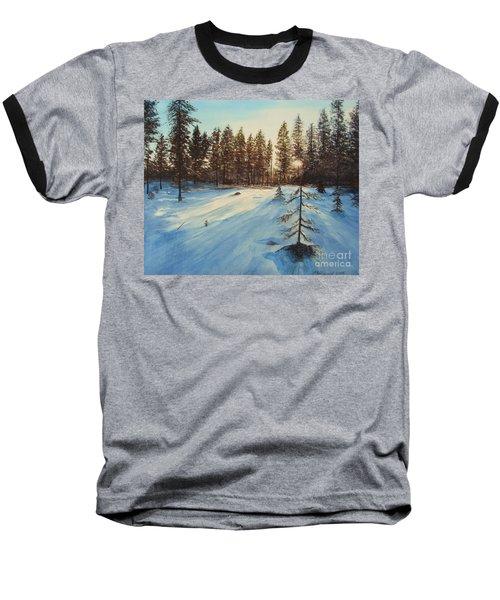 Freezing Forest Baseball T-Shirt