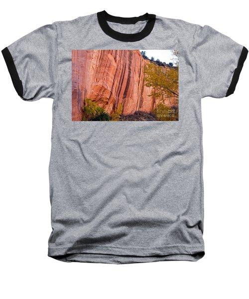 Fremont River Cliffs Capitol Reef National Park Baseball T-Shirt