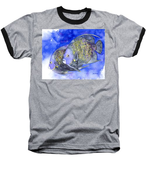 French Angelfish Baseball T-Shirt