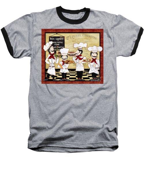 French Chefs-bon Appetit Baseball T-Shirt