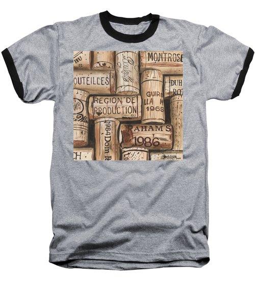 French Corks Baseball T-Shirt