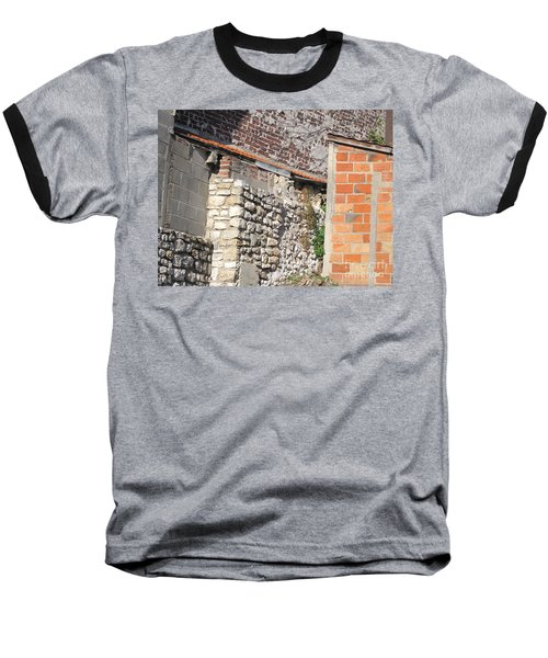 French Farm Wall Baseball T-Shirt