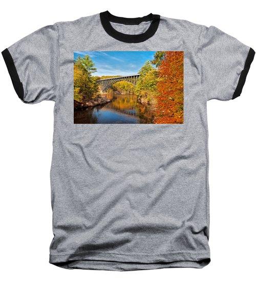 French King Bridge In Autumn Baseball T-Shirt