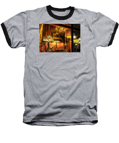 French Quarter Ambiance Baseball T-Shirt by Tim Stanley
