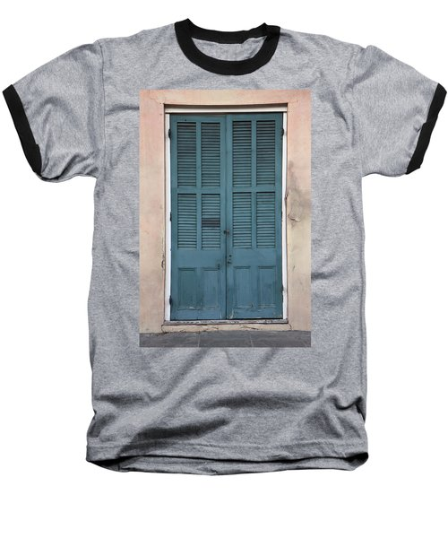 French Quarter Doors Baseball T-Shirt