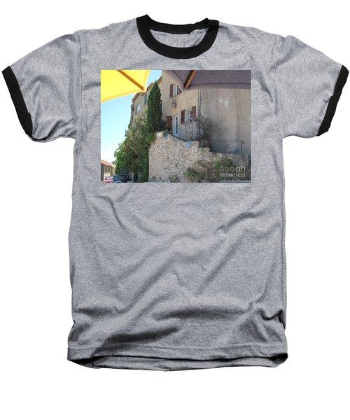 French Riviera - Ramatuelle Baseball T-Shirt by HEVi FineArt