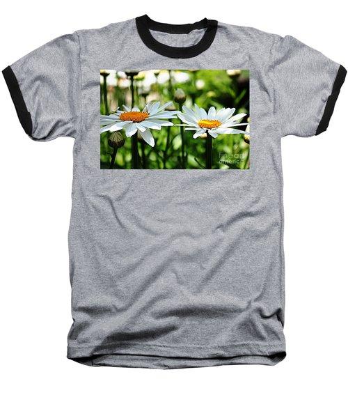 Baseball T-Shirt featuring the photograph Fresh As A Daisy by Judy Palkimas