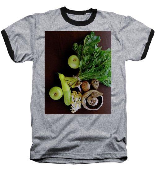 Fresh Vegetables And Fruit Baseball T-Shirt