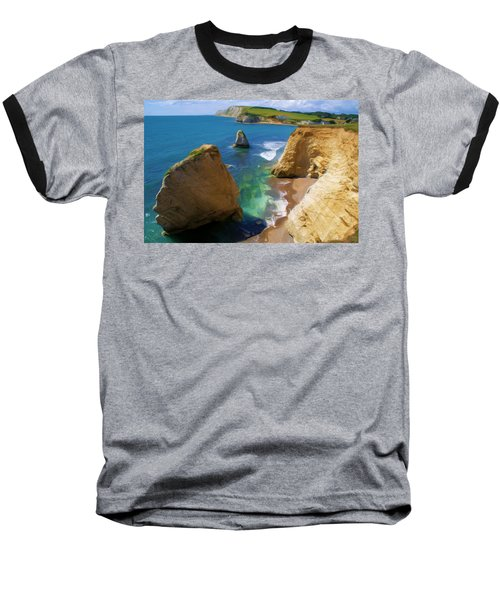 Freshwater Bay Baseball T-Shirt by Ron Harpham
