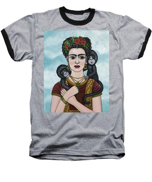 Frida In The Sky Baseball T-Shirt