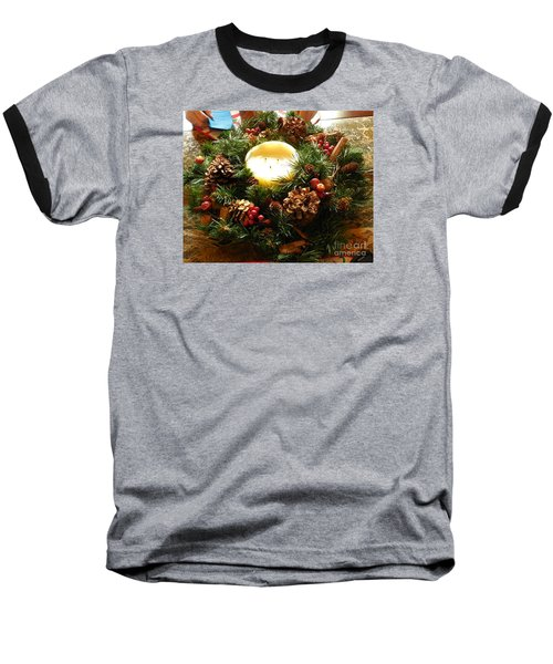 Baseball T-Shirt featuring the photograph Friendly Holiday Reef by Robin Coaker