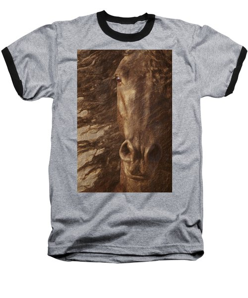 Friesian Spirit Baseball T-Shirt