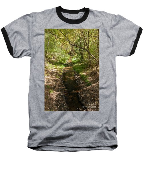 Frijole Creek Bandelier National Monument Baseball T-Shirt