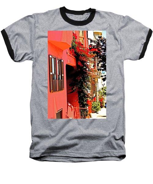 Frisco Street Flowers Baseball T-Shirt