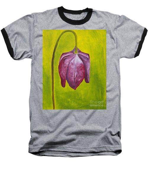 Fritillary Flower Baseball T-Shirt
