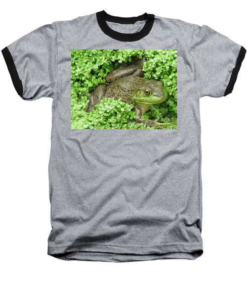 Frog Baseball T-Shirt by DejaVu Designs