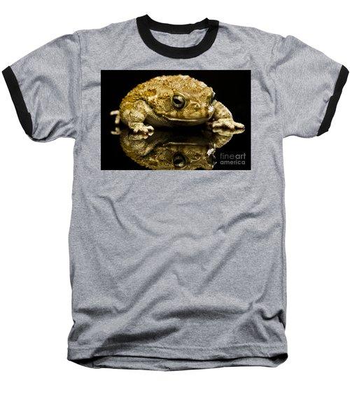 Baseball T-Shirt featuring the photograph Frog by Gunnar Orn Arnason