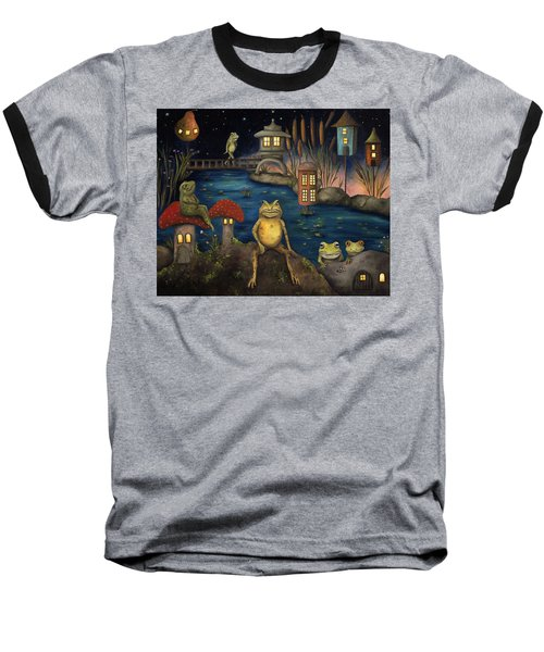 Frogland Baseball T-Shirt