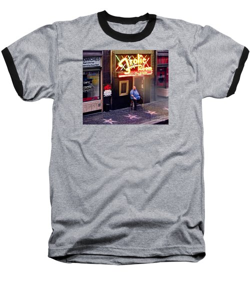 Frolic Room.hollywood Blvd Baseball T-Shirt by Jennie Breeze