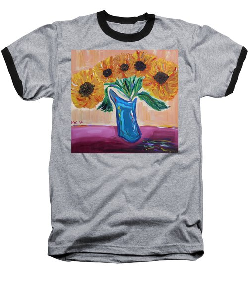 From A Fair And Sunny Field Baseball T-Shirt
