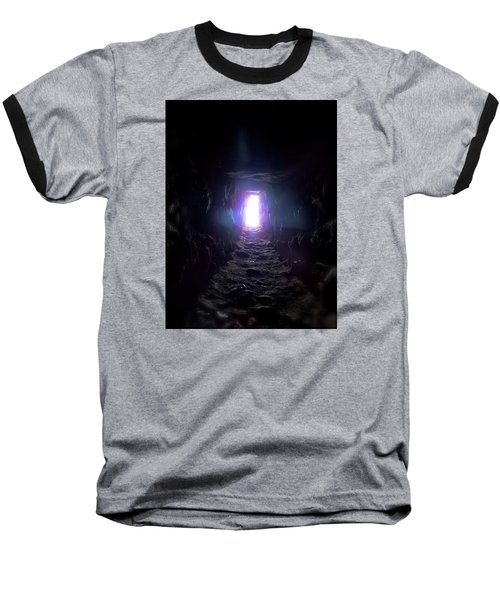 From Dark To Bright Baseball T-Shirt by Marc Philippe Joly