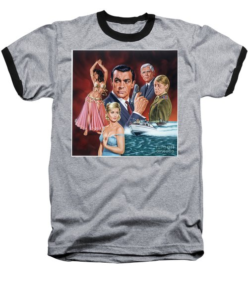 From Russia With Love Baseball T-Shirt