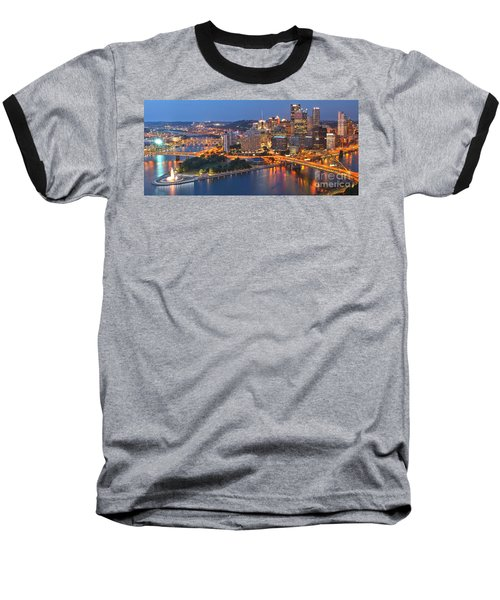 From The Fountain To Ft. Pitt Baseball T-Shirt