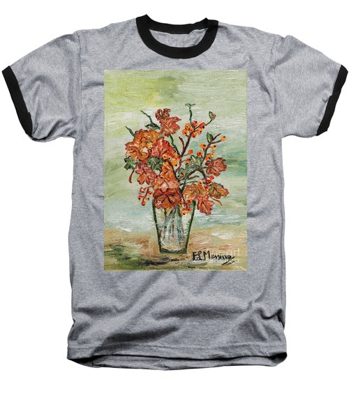 From The Garden Baseball T-Shirt by Loredana Messina