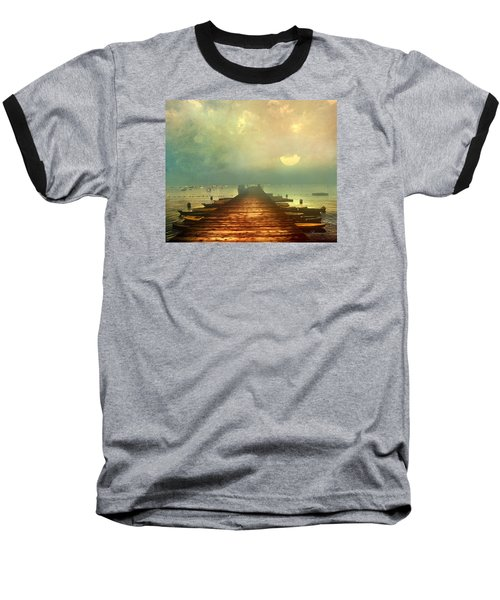 From The Moon To The Mist Baseball T-Shirt