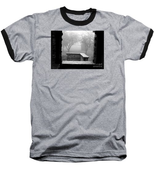 From The Window Baseball T-Shirt by Susan  Dimitrakopoulos