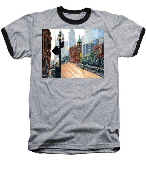 Front And Church Baseball T-Shirt