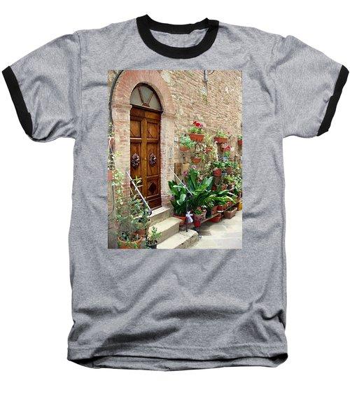 Front Door Baseball T-Shirt by Ellen Henneke