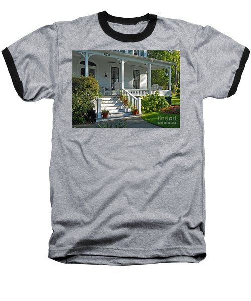 Front Porch In Summer Baseball T-Shirt